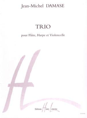 Jean-Michel Damase - Trio - pour flûte, harpe et violoncelle Op. 1 - Partition - di-arezzo.fr