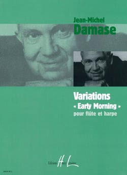 Variations Early Morning Jean-Michel Damase Partition laflutedepan