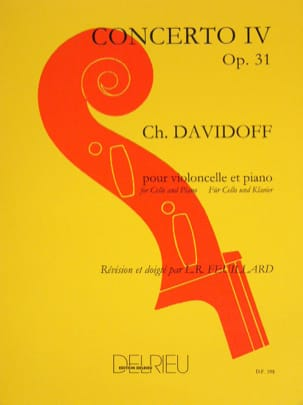 Charles Davidoff - Concerto No. 4 in E Minor Op. 31 - Sheet Music - di-arezzo.co.uk