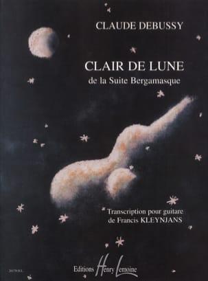 DEBUSSY - Clair de Lune - Rév. Kleynjans - Partition - di-arezzo.fr
