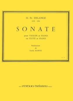 Sonate – Violon piano - Hermann François Delange - laflutedepan.com
