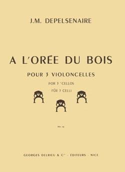 A l'orée du bois - Jean-Marie Depelsenaire - laflutedepan.com