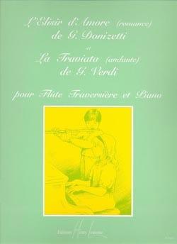 Elisir d'amor romance) / Traviata andante) - Flûte piano - laflutedepan.com