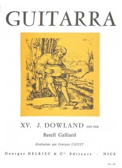 Batell Galliard - John Dowland - Partition - laflutedepan.com