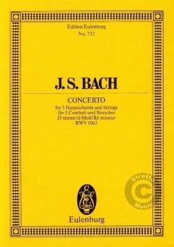 Konzert D-Moll, BWV 1063 BACH Partition Petit format - laflutedepan