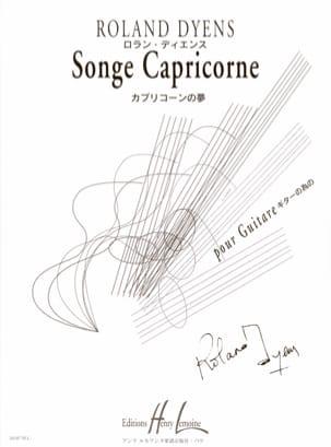 Songe Capricorne - Roland Dyens - Partition - laflutedepan.com