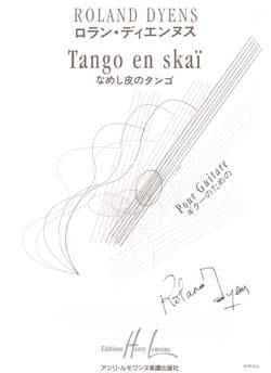 Tango en Skaï Roland Dyens Partition Sextuors - laflutedepan