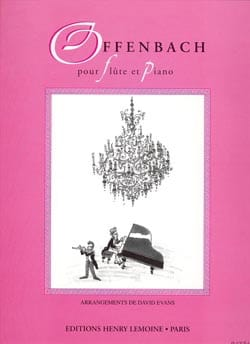 Offenbach pour Flûte et piano - laflutedepan.com
