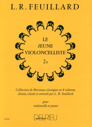 FEUILLARD - Young Violoncellist Vol.2 B - Sheet Music - di-arezzo.co.uk