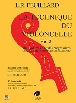 FEUILLARD - Cello Technique Volume 2 - Partitura - di-arezzo.it