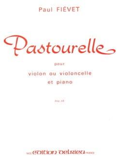 Pastourelle - Paul Fiévet - Partition - Violon - laflutedepan.com