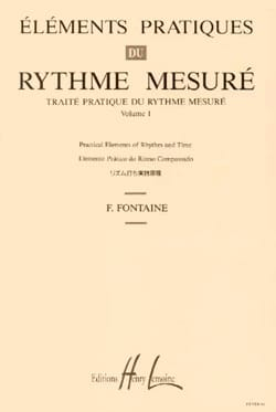 Fernand Fontaine - Volume 1 - Practical Truth of Measured Rhythm - Sheet Music - di-arezzo.co.uk