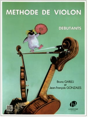GARLEJ - GONZALES - Novice Violin Method - Sheet Music - di-arezzo.co.uk