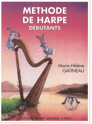 Marie-Hélène Gatineau - Beginner harp method: Volume 1 - Sheet Music - di-arezzo.co.uk