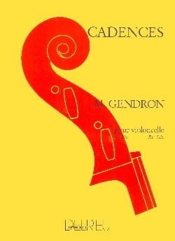 Maurice Gendron - Cadences - Partition - di-arezzo.fr