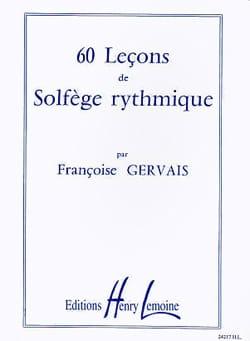 Françoise Gervais - 60 lecciones de gimnasia rítmica - Partitura - di-arezzo.es
