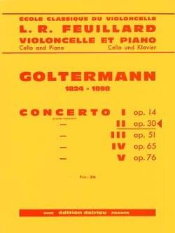 Georg Goltermann - Concerto N°2 Op.30 en Ré Mineur (1er Mvt) - Partition - di-arezzo.fr