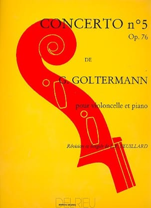 Georg Goltermann - Concierto No. 5 Op. 76 en Re menor 1er Mvt - Partitura - di-arezzo.es