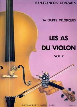 Jean-François Gonzales - The violin ace, Volume 2 - Sheet Music - di-arezzo.co.uk