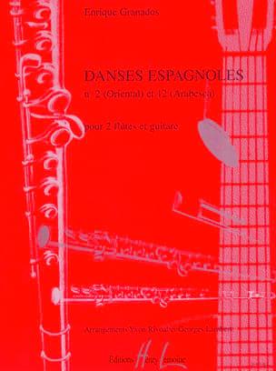 Enrique Granados - Danses espagnoles n° 2 et 12 - Partition - di-arezzo.fr