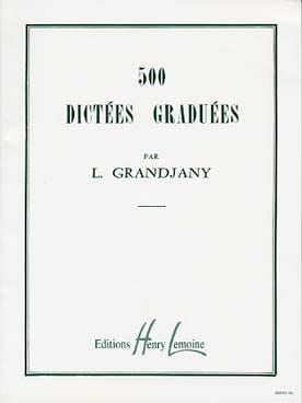 L. Grandjany - 500 Graduated Dictations - Partition - di-arezzo.co.uk