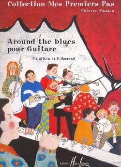 Guillem Patrick / Harrand Pascal - Around the blues - Sheet Music - di-arezzo.co.uk