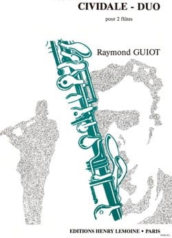 Raymond Guiot - Cividale - Duo – 2 Flûtes - Partition - di-arezzo.fr