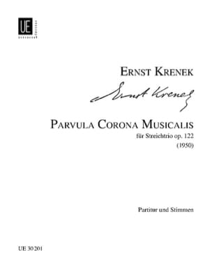 Ernst Krenek - Parvula Corona Musicalis - Sheet Music - di-arezzo.com