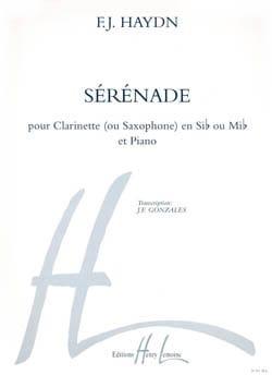 Sérénade - HAYDN - Partition - Clarinette - laflutedepan.com