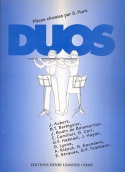 - Duos - 2 flutes - Sheet Music - di-arezzo.com