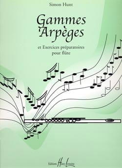 Simon Hunt - Ranges e arpeggi - Partitura - di-arezzo.it
