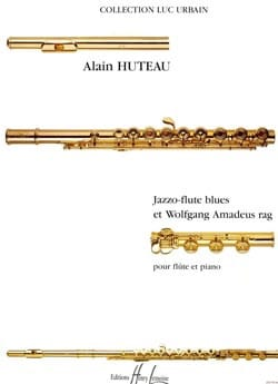Alain Huteau - Jazzo-Flute Blues and Wolfgang Amadeus Rag - Sheet Music - di-arezzo.com