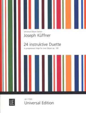 Joseph Küffner - 24 instruktive Duette op. 199 – 2 Oboen - Partition - di-arezzo.fr