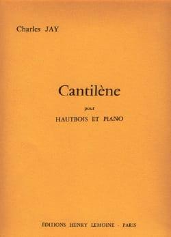 Cantilène Charles Jay Partition Hautbois - laflutedepan