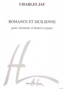 Charles Jay - Romance et Sicilienne - Partition - di-arezzo.fr