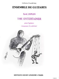 The Entertainer -3 Guitares JOSPLIN Partition Guitare - laflutedepan