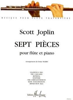 Scott Joplin - 7 piezas - flauta de piano - Partitura - di-arezzo.es