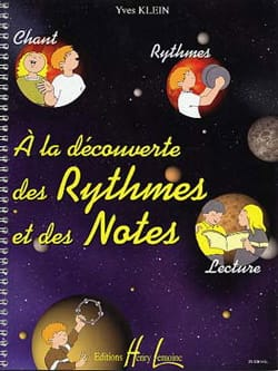 Yves Klein - Discovering rhythms and notes - Sheet Music - di-arezzo.com