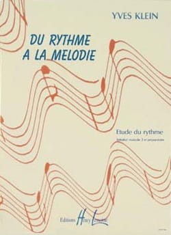 Yves Klein - From rhythm to melody - without piano - Partition - di-arezzo.co.uk
