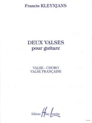 Francis Kleynjans - 2 Wings for guitar op. 64 - Sheet Music - di-arezzo.co.uk