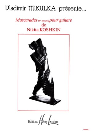 Nikita Koshkin - Masquerades Volume 1 - Sheet Music - di-arezzo.co.uk