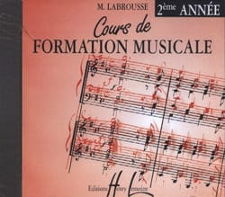 Marguerite Labrousse - CD - Cours de Formation Musicale Volume 2 - Partition - di-arezzo.fr