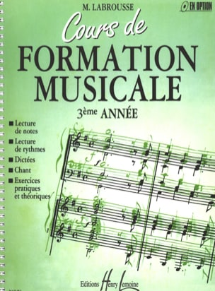 Marguerite Labrousse - Musical Training Course - Volume 3 - Sheet Music - di-arezzo.com