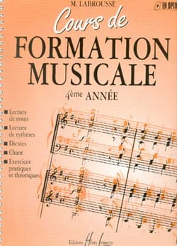 Marguerite Labrousse - Musical Training Course - Volume 4 - Sheet Music - di-arezzo.com