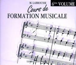 CD - Cours de Formation Musicale Volume 6 laflutedepan