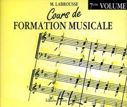 Marguerite Labrousse - CD - Cours de Formation Musicale Volume 7 - Partition - di-arezzo.fr