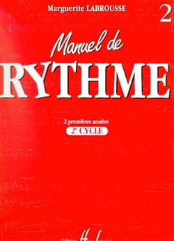 Marguerite Labrousse - Rhythm Manual - 2nd Cycle - Sheet Music - di-arezzo.co.uk