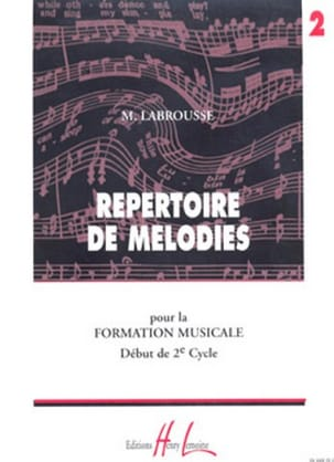 Marguerite Labrousse - Volume 2 Melody Directory - Sheet Music - di-arezzo.co.uk