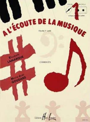 Elisabeth LAMARQUE et Marie-José GOUDARD - Listening to the mus. - End cycle 1 - Prof - Sheet Music - di-arezzo.com