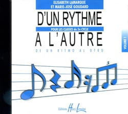 Elisabeth LAMARQUE et Marie-José GOUDARD - CD - From Rhythm To Other Volume 1 - Sheet Music - di-arezzo.co.uk